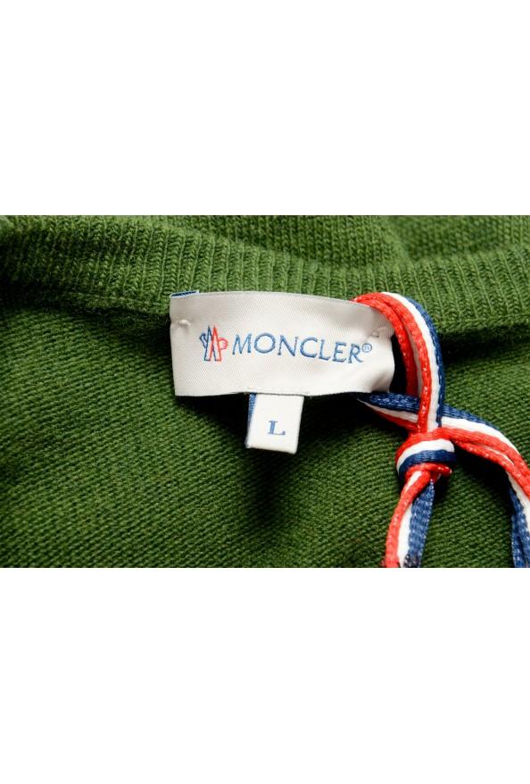 Moncler Men's Multi-Color 100% Wool Crewneck Sweater : Picture 5