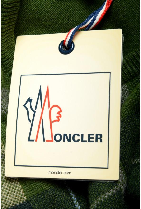 Moncler Men's Multi-Color 100% Wool Crewneck Sweater : Picture 6