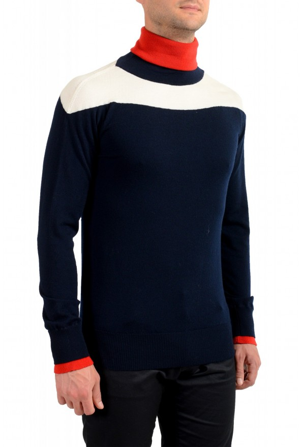 Moncler Men's Multi-Color Wool Turtleneck Pullover Sweater: Picture 2