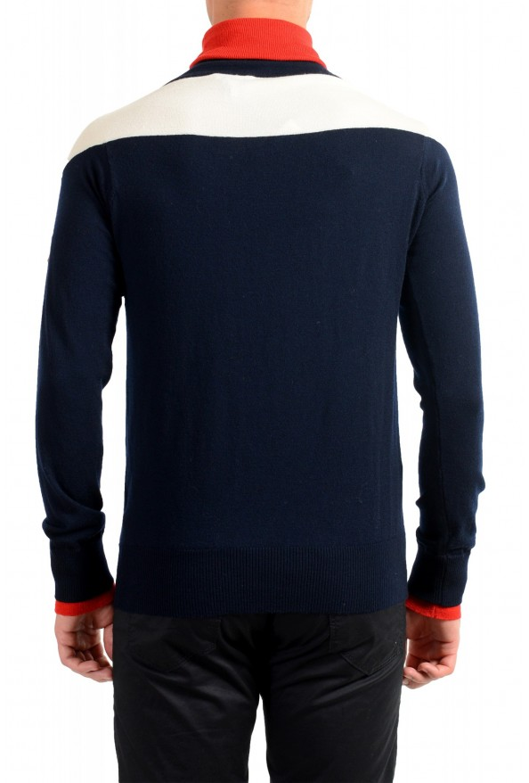 Moncler Men's Multi-Color Wool Turtleneck Pullover Sweater: Picture 4