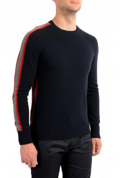 Moncler Men's Black 100% Wool Crewneck Sweater: Picture 2