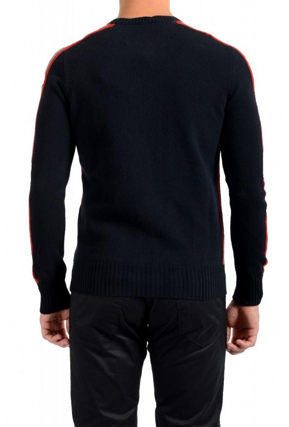Moncler Men's Black 100% Wool Crewneck Sweater: Picture 3