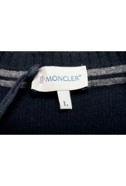 Moncler Men's Black 100% Wool Crewneck Sweater: Picture 7