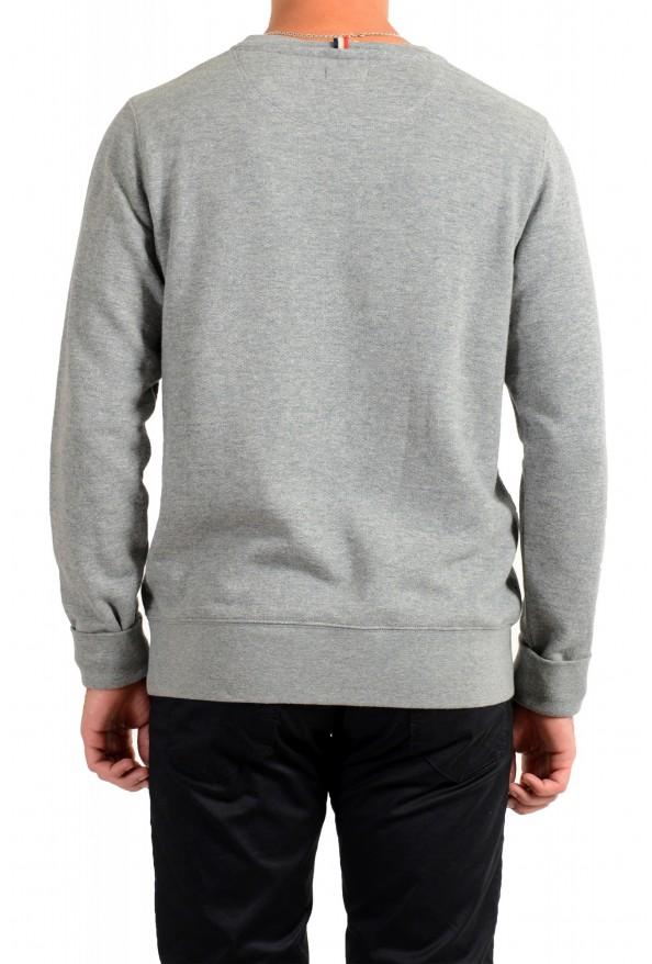 Moncler Men's Gray Wool Crewneck Sweatshirt : Picture 3