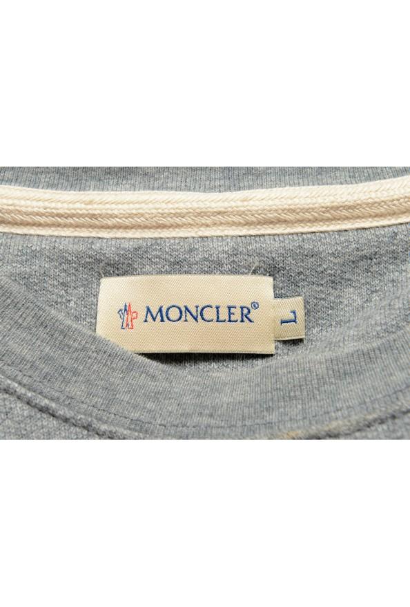 Moncler Men's Gray Wool Crewneck Sweatshirt : Picture 5