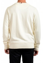 Moncler Men's Ivory Wool Crewneck Sweatshirt: Picture 3