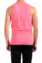 Dolce & Gabbana D&G Men's Graphic Print Bright Pink Tank Top: Picture 3