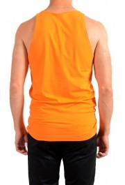 Dolce & Gabbana D&G Men's Graphic Print Orange Tank Top: Picture 3
