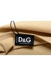 Dolce & Gabbana D&G Men's Graphic Print Beige Tank Top: Picture 4
