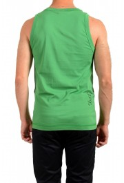 Dolce & Gabbana D&G Men's Graphic Print Bright Green Tank Top: Picture 3