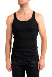 Dolce & Gabbana Men's Black Ribbed Tank Top