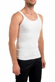 Dolce & Gabbana Men's White Ribbed Tank Top : Picture 2
