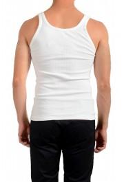 Dolce & Gabbana Men's White Ribbed Tank Top : Picture 3