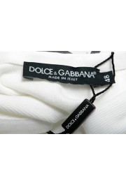 Dolce & Gabbana Men's White Ribbed Tank Top : Picture 4
