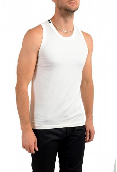 Dolce & Gabbana Men's White Tank Top : Picture 2