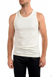 Dolce & Gabbana Men's Off White Tank Top