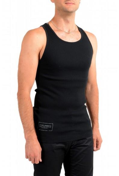 Dolce & Gabbana Men's Black Ribbed Tank Top : Picture 2