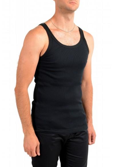 Dolce & Gabbana Men's Black Ribbed Tank Top: Picture 2