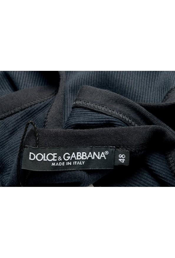 Dolce & Gabbana Men's Black Ribbed Tank Top: Picture 4