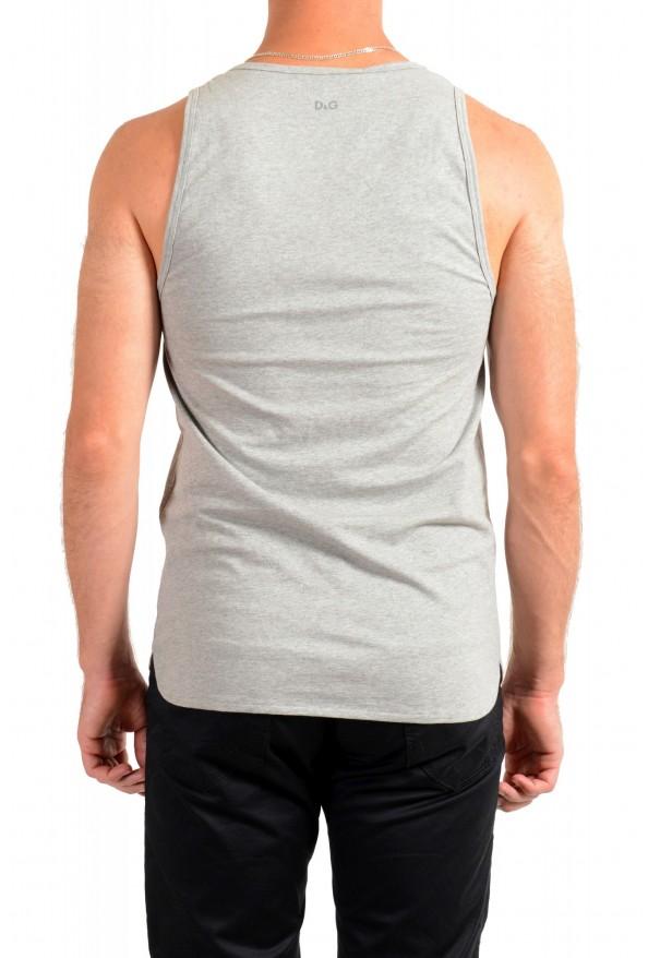 Dolce & Gabbana D&G Men's Gray Tank Top: Picture 3