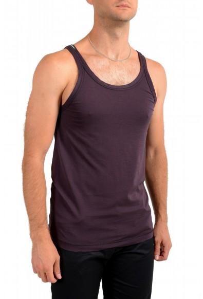 Dolce & Gabbana Men's Purple Tank Top: Picture 2