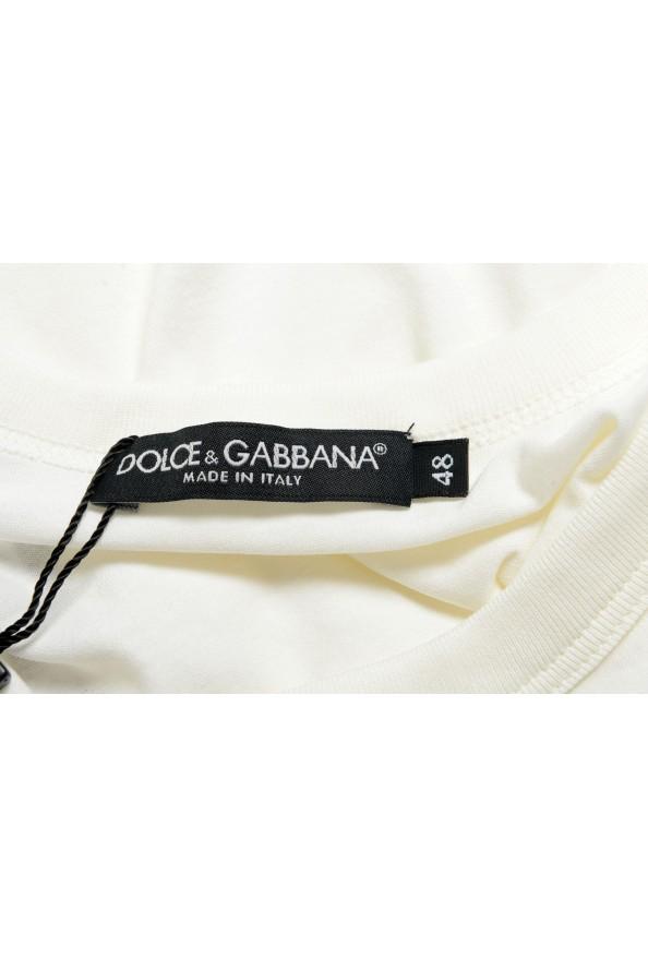 Dolce & Gabbana Men's White Tank Top: Picture 4