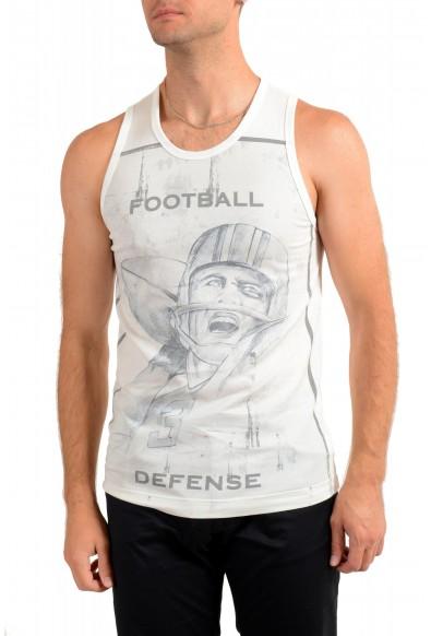 Dolce & Gabbana Men's Graphic Print Tank Top