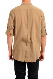 "Dolce & Gabbana ""Gold"" Men's Beige Short Sleeve Shirt: Picture 3"