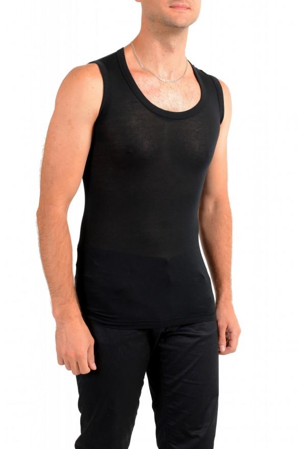 Dolce & Gabbana Men's Black See Through Tank Top: Picture 2