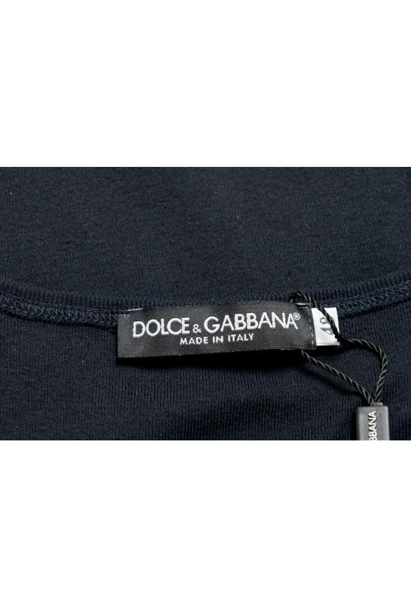 Dolce & Gabbana Men's Black Tank Top: Picture 4