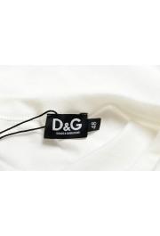 Dolce & Gabbana D&G Men's White Crewneck T-Shirt : Picture 5