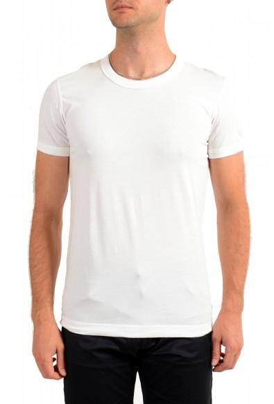 Dolce & Gabbana D&G Men's White Crewneck T-Shirt
