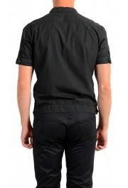 Dolce & Gabbana Men's Black Button Down Short Sleeve Shirt: Picture 3