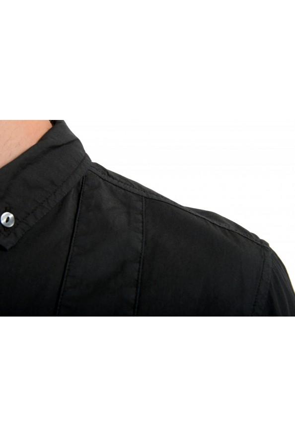 Dolce & Gabbana Men's Black Button Down Short Sleeve Shirt: Picture 4