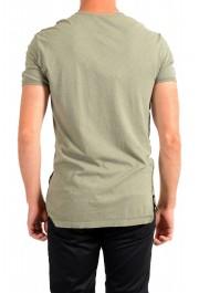Dolce & Gabbana Men's Green Graphic Print Crewneck T-Shirt: Picture 3