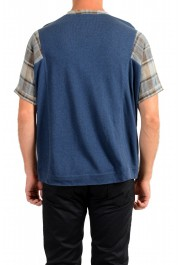 Dolce & Gabbana Men's Multi-Color Knitted Sweater T-Shirt: Picture 3