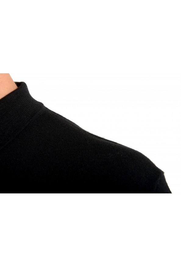 "Hugo Boss ""Bono_GSU"" Men's 100% Wool Black Polo Style Sweater : Picture 4"