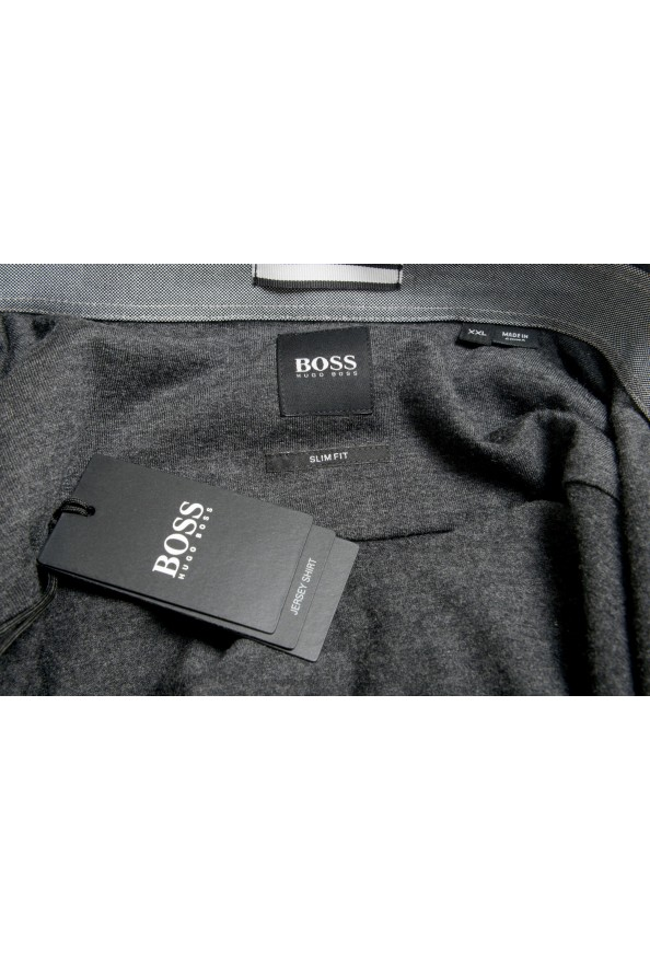 """Hugo Boss Men's """"Ridley_5"""" Slim Fit Long Sleeve Casual Shirt: Picture 7"""