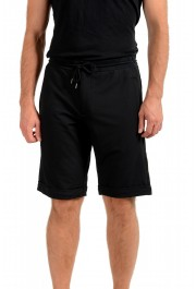 Armani Jeans Men's Black Sweat Shorts