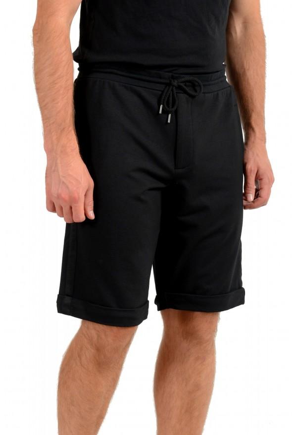 Armani Jeans Men's Black Sweat Shorts: Picture 2