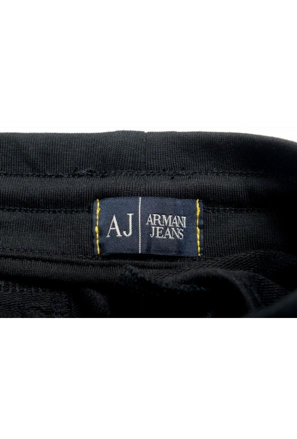 Armani Jeans Men's Black Sweat Shorts: Picture 4