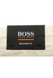 "Hugo Boss Men's ""Symon-Shorts"" Beige Casual 100% Linen Shorts : Picture 5"