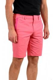 "Hugo Boss Men's Slim Fit ""Liem4-10"" Pink Casual Shorts: Picture 2"