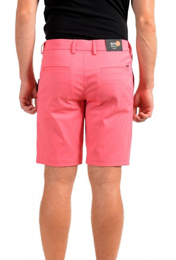 "Hugo Boss Men's Slim Fit ""Liem4-10"" Pink Casual Shorts: Picture 3"