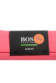 "Hugo Boss Men's Slim Fit ""Liem4-10"" Pink Casual Shorts: Picture 4"