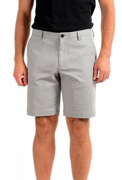 "Hugo Boss Men's ""Slice-Short"" Geometric Print Casual Shorts"
