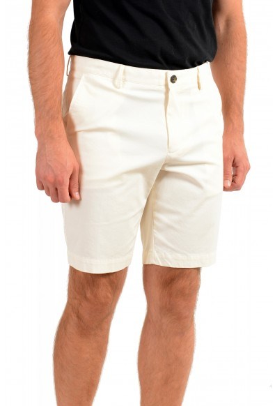 "Hugo Boss Men's ""Slice-Short"" Ivory Casual Shorts: Picture 2"