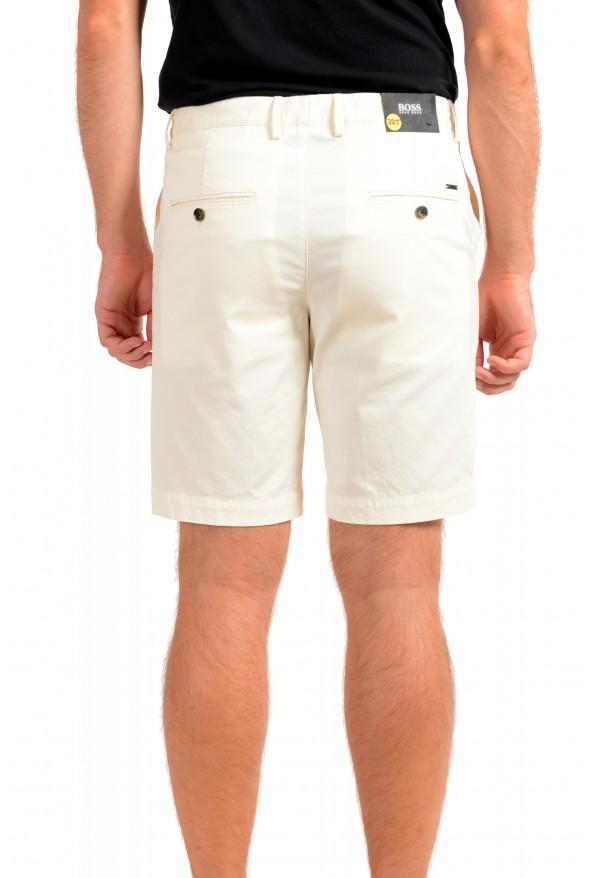 "Hugo Boss Men's ""Slice-Short"" Ivory Casual Shorts: Picture 3"