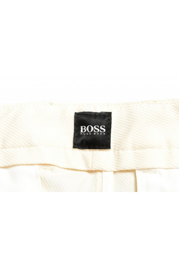 "Hugo Boss Men's ""Slice-Short"" Ivory Casual Shorts: Picture 4"