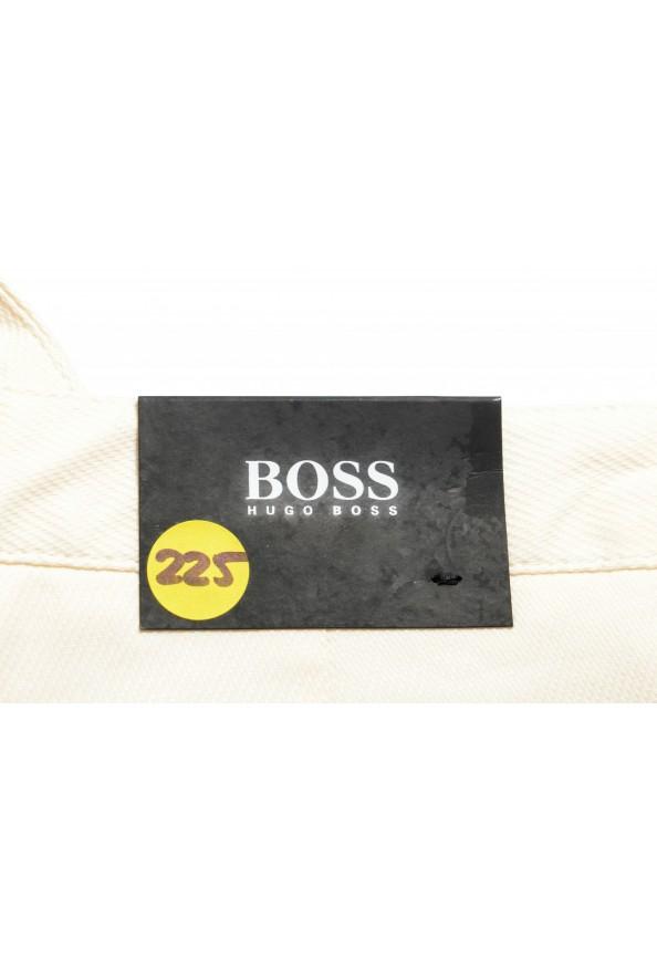 "Hugo Boss Men's ""Slice-Short"" Ivory Casual Shorts: Picture 5"